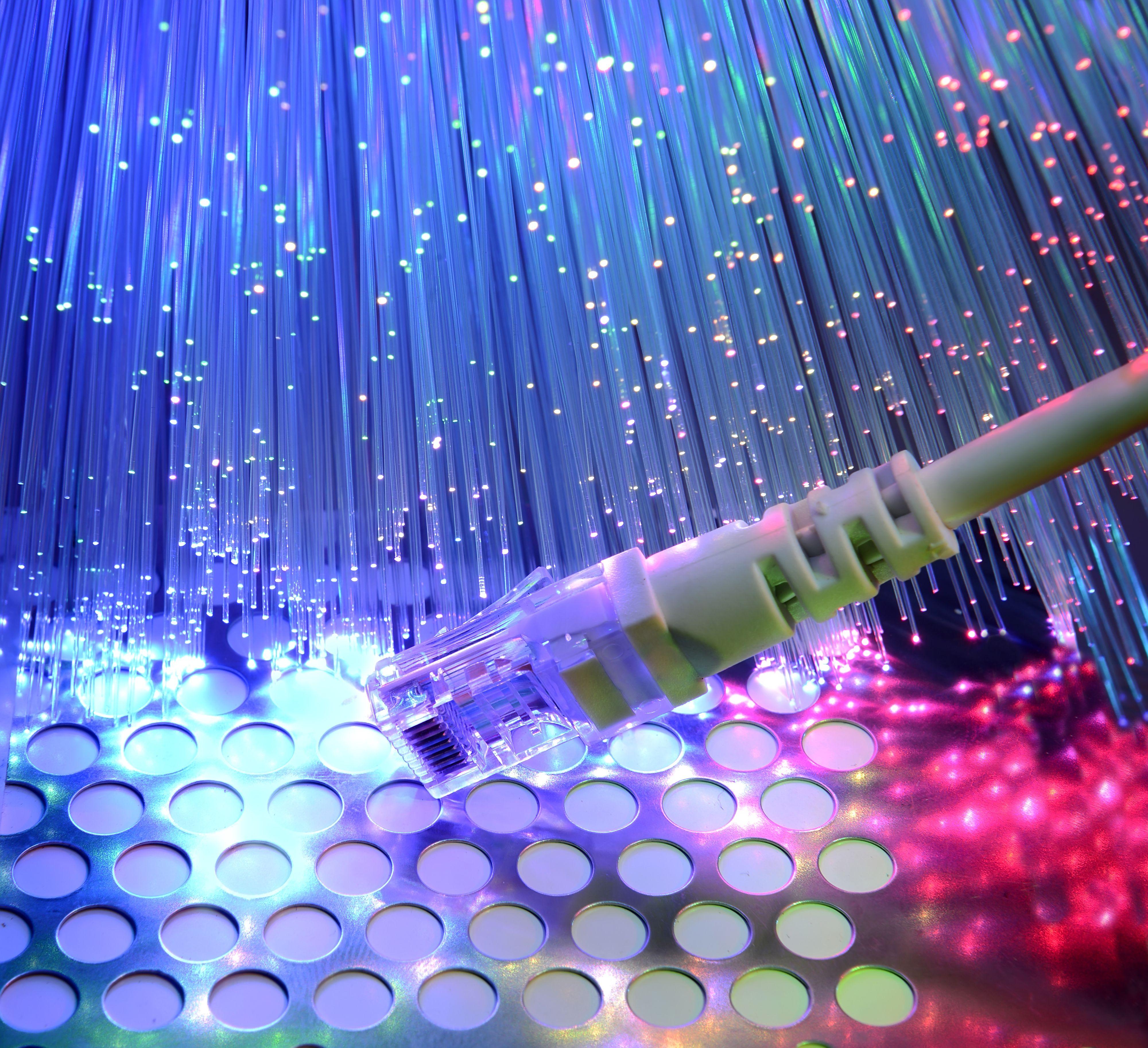 Fiber – alle nerders drømmeoppkobling.Foto: Shutterstock