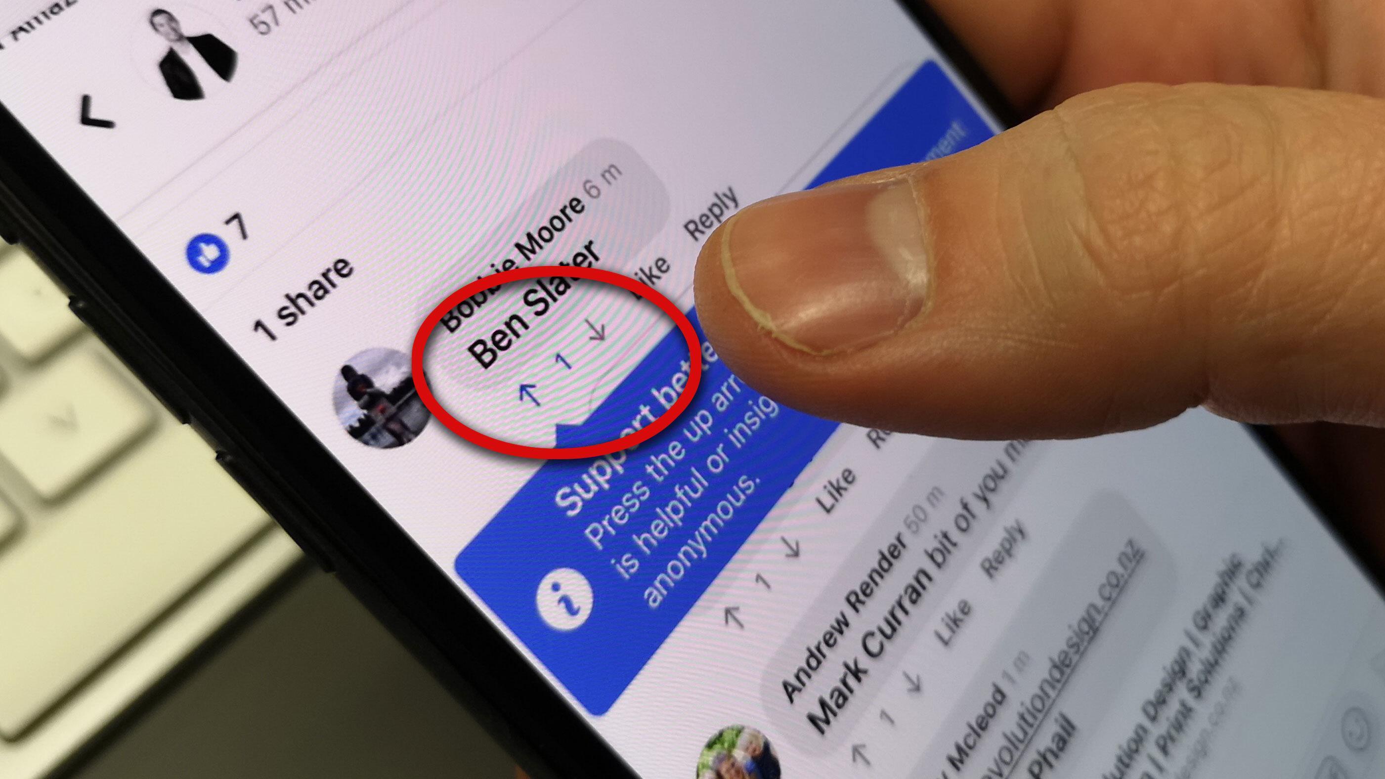 Facebook ruller ut et Reddit-lignende stemmesystem