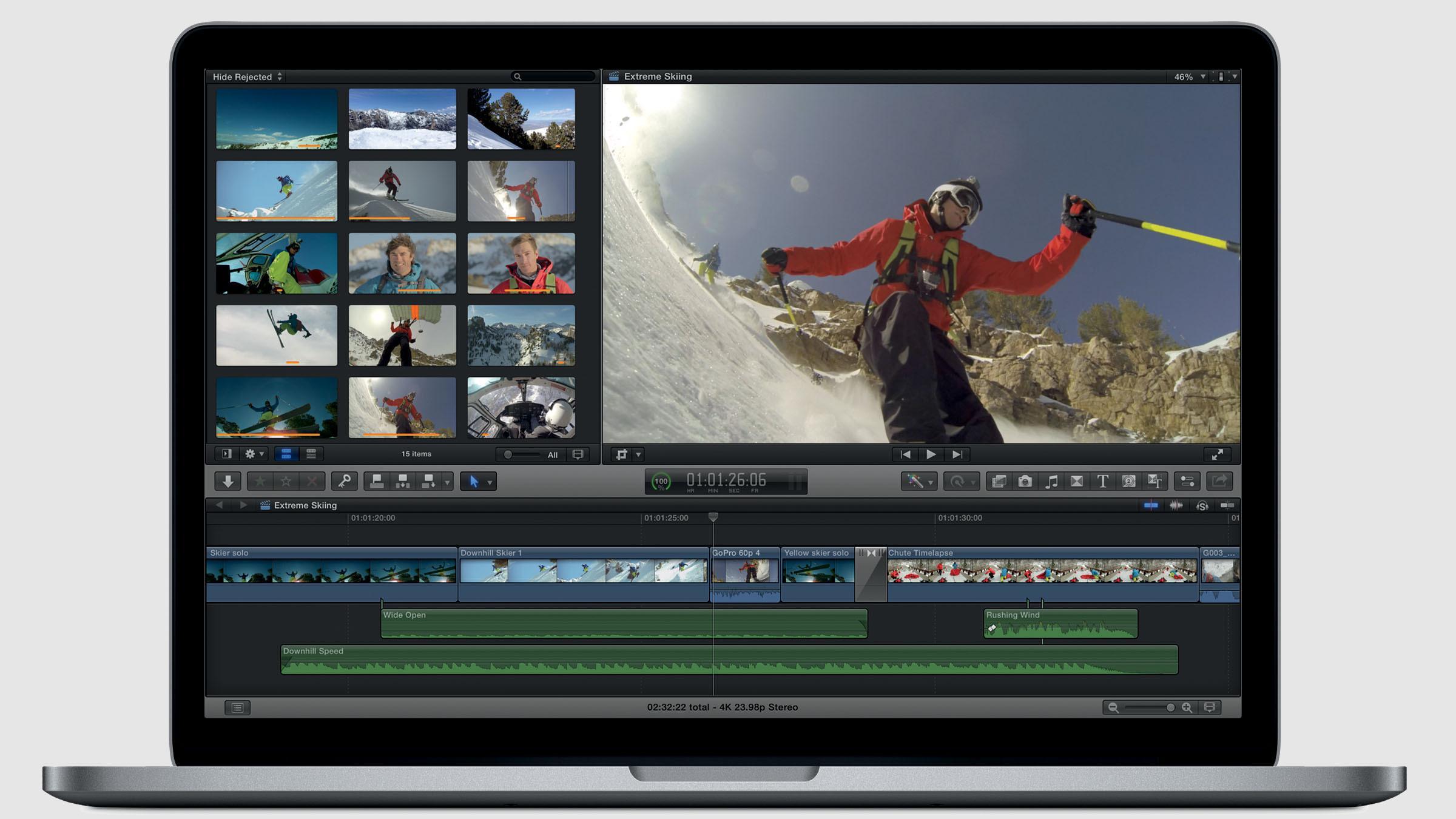 Bedre 3D-støtte i Apples profesjonelle videoprogramvare