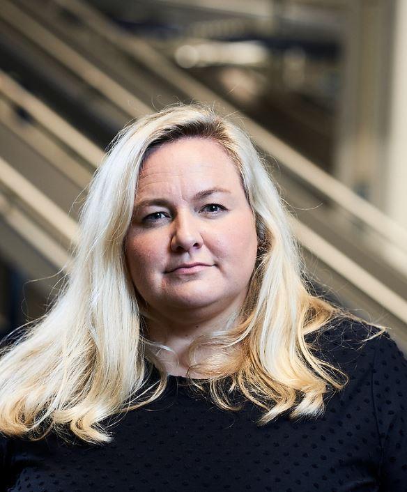 Kristin Hovland, kommunikasjonssjef i Komplett.