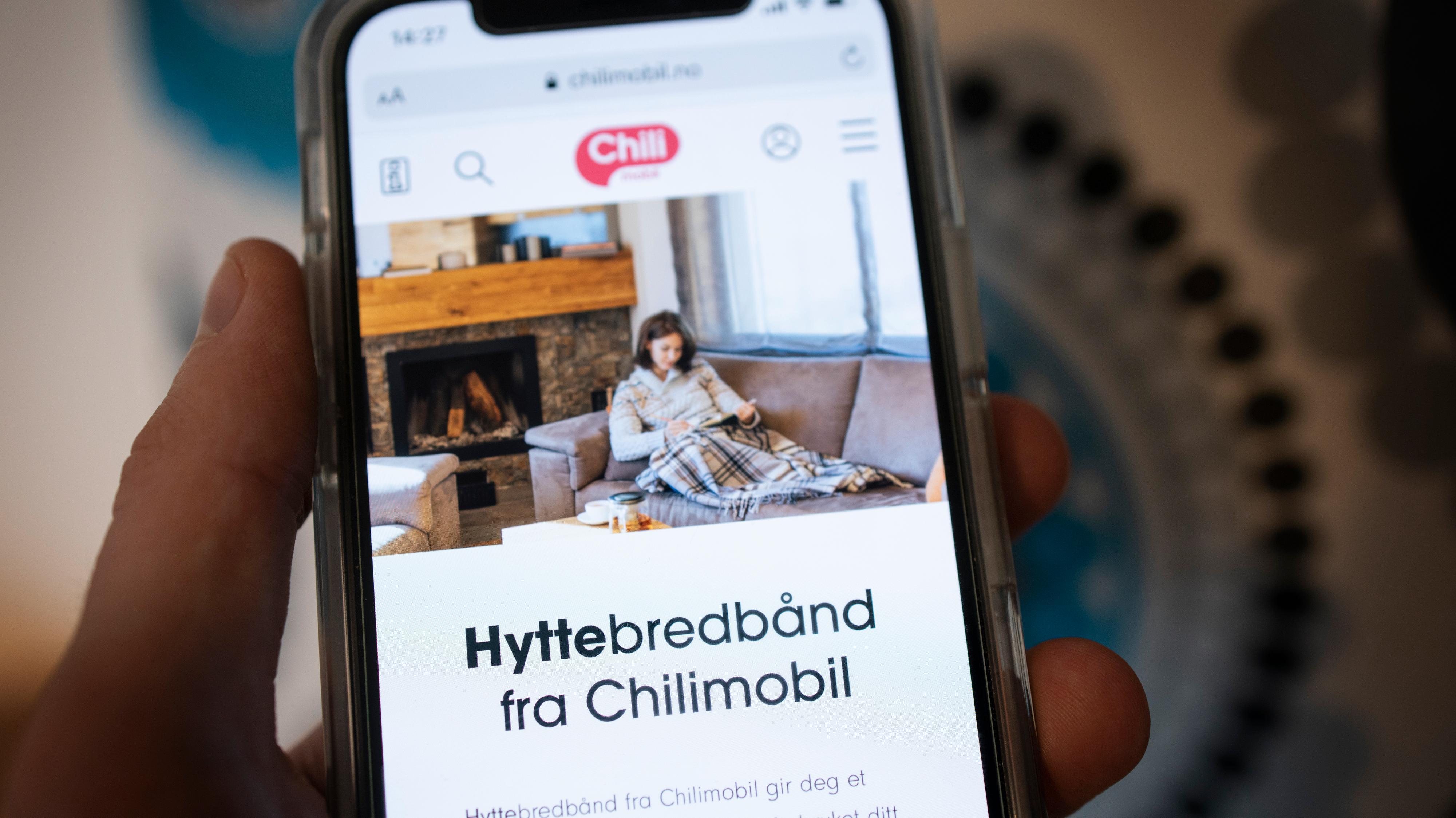 Chilimobil lanserer «hyttebredbånd»