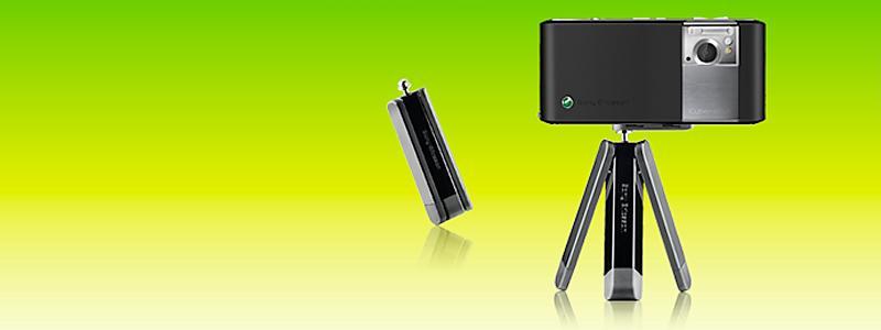 Lanserer stativ til egne telefoner