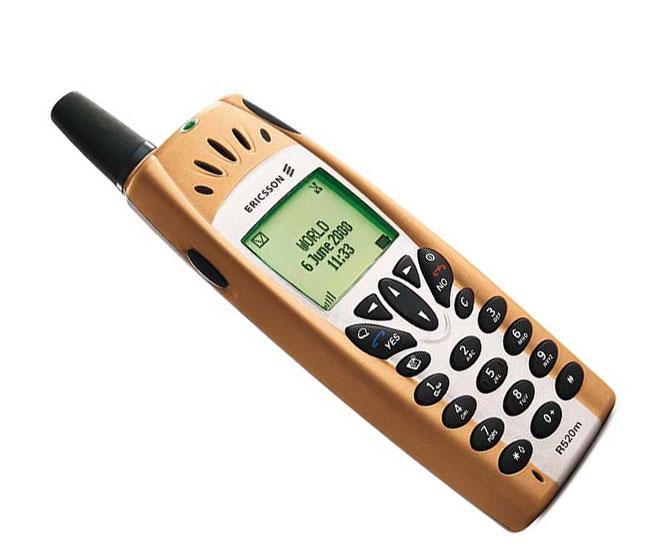 Ericsson R520m var i sin tid en toppmodell.