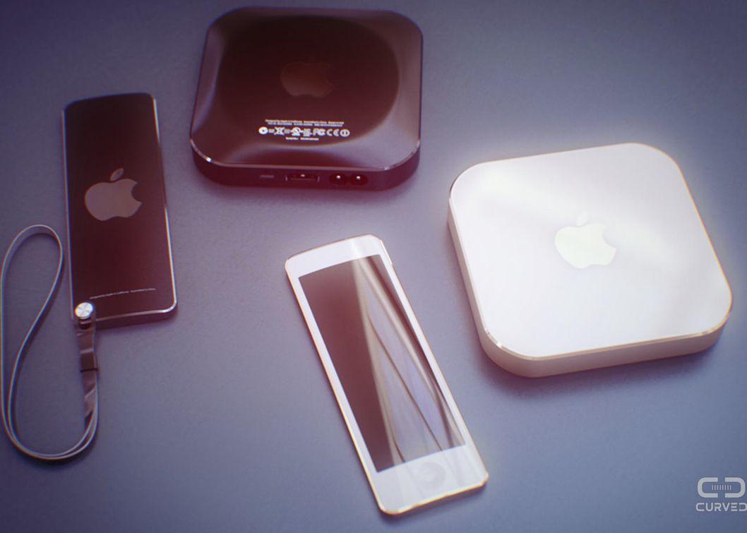Vi krysser fingrene våre for at dette Apple TV-konseptet fra Curved blir noe av.Foto: Curved