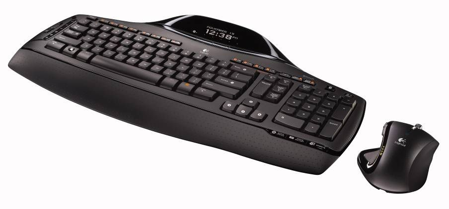 Bluetooth-tastatur med skjerm