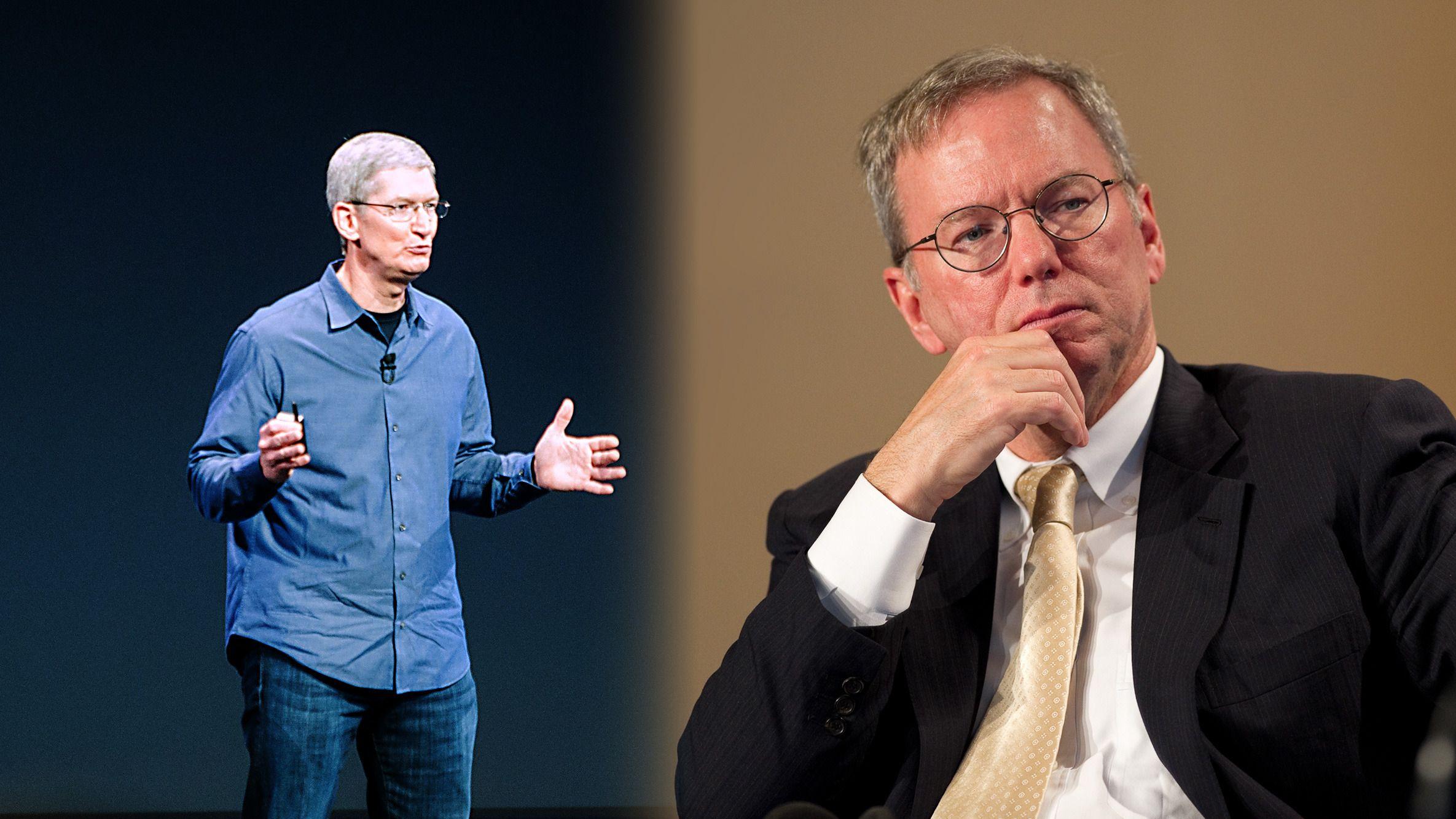 Apple er verdt dobbelt så mye som Google