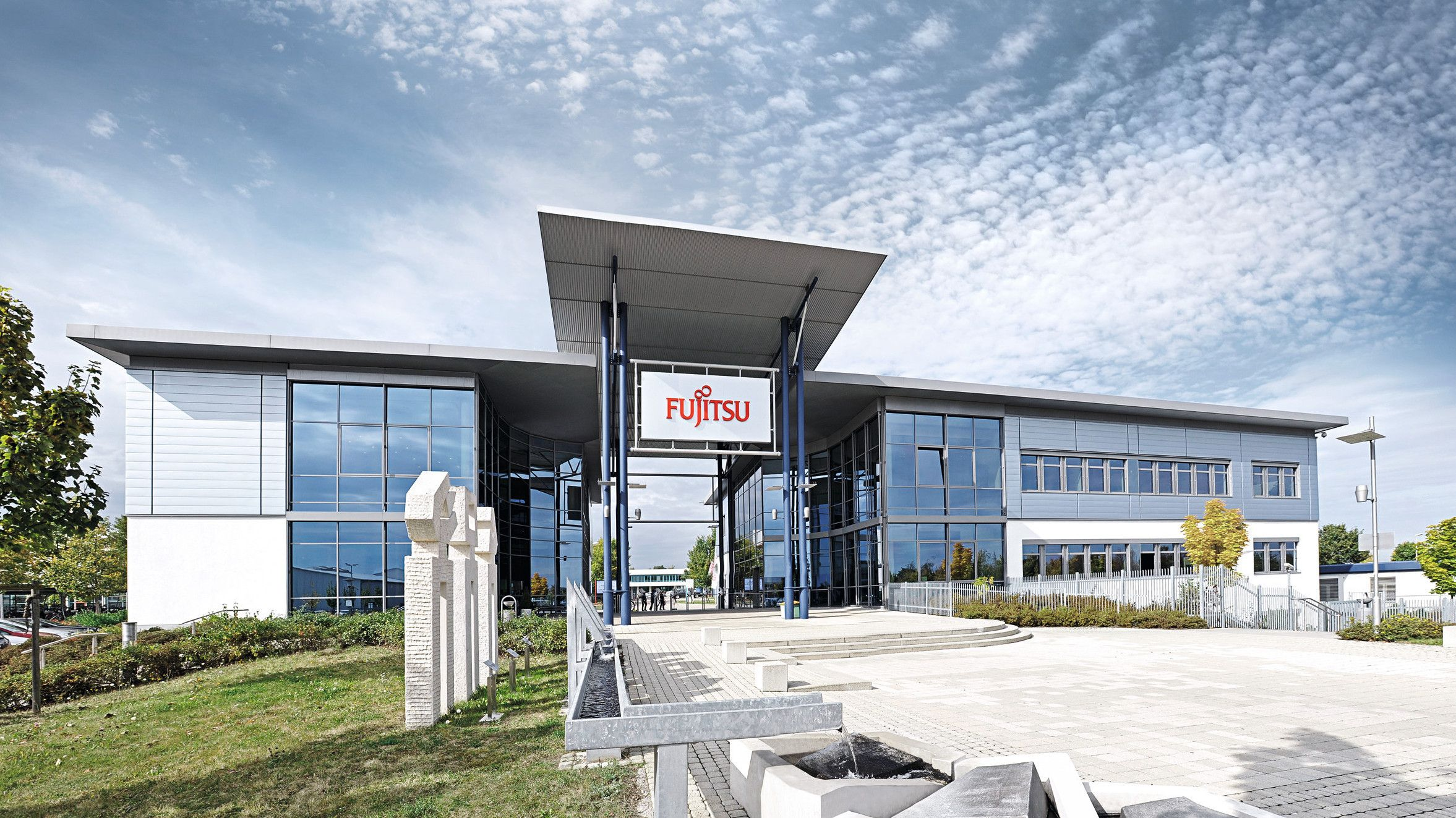 Fujitsu-fabrikken i Augsburg