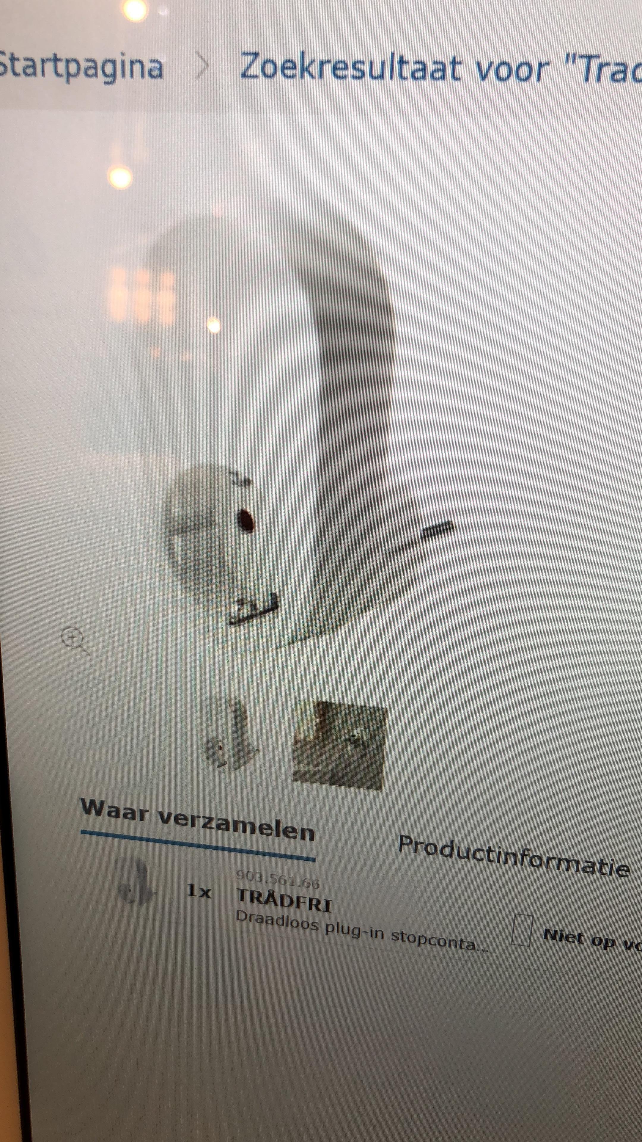 En Reddit-bruker postet dette bildet, som han hadde tatt av en av Ikeas touchterminaler i varehusene.