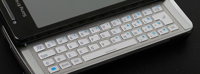Tastaturet er luftig og bra. (Klikk for stor versjon)