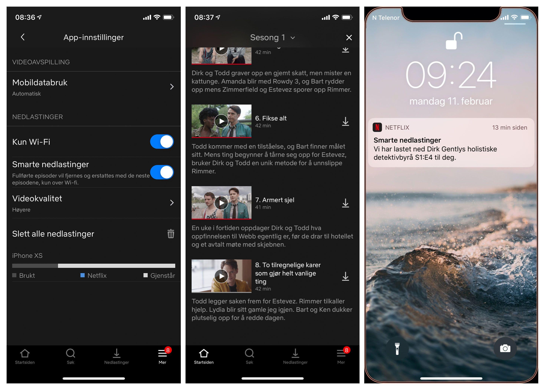 Under App-innstillinger kan du aktivere den nye funksjonen.