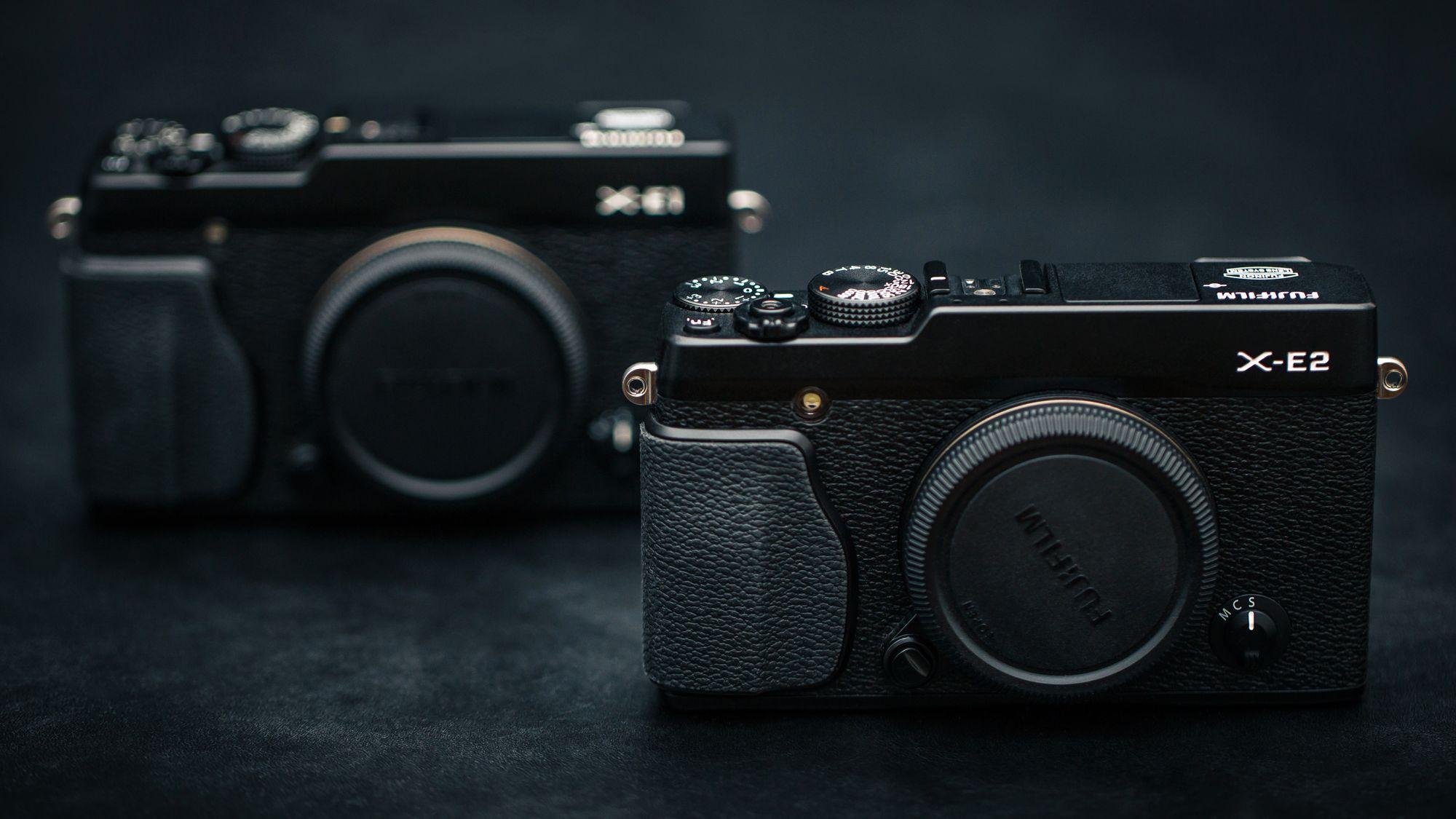 X-E2 er lik sin forgjenger. (Foto: Johannes Granseth)