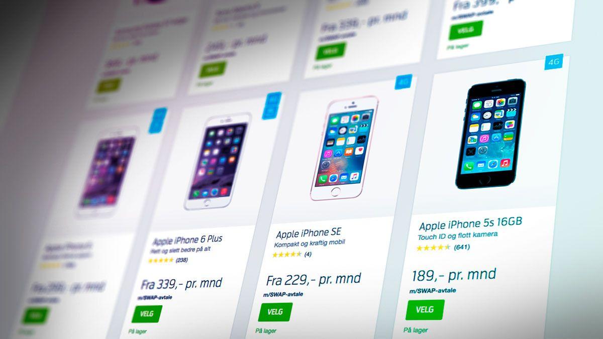 Telenor lanserer Swap – lar deg skifte telefon hvert år