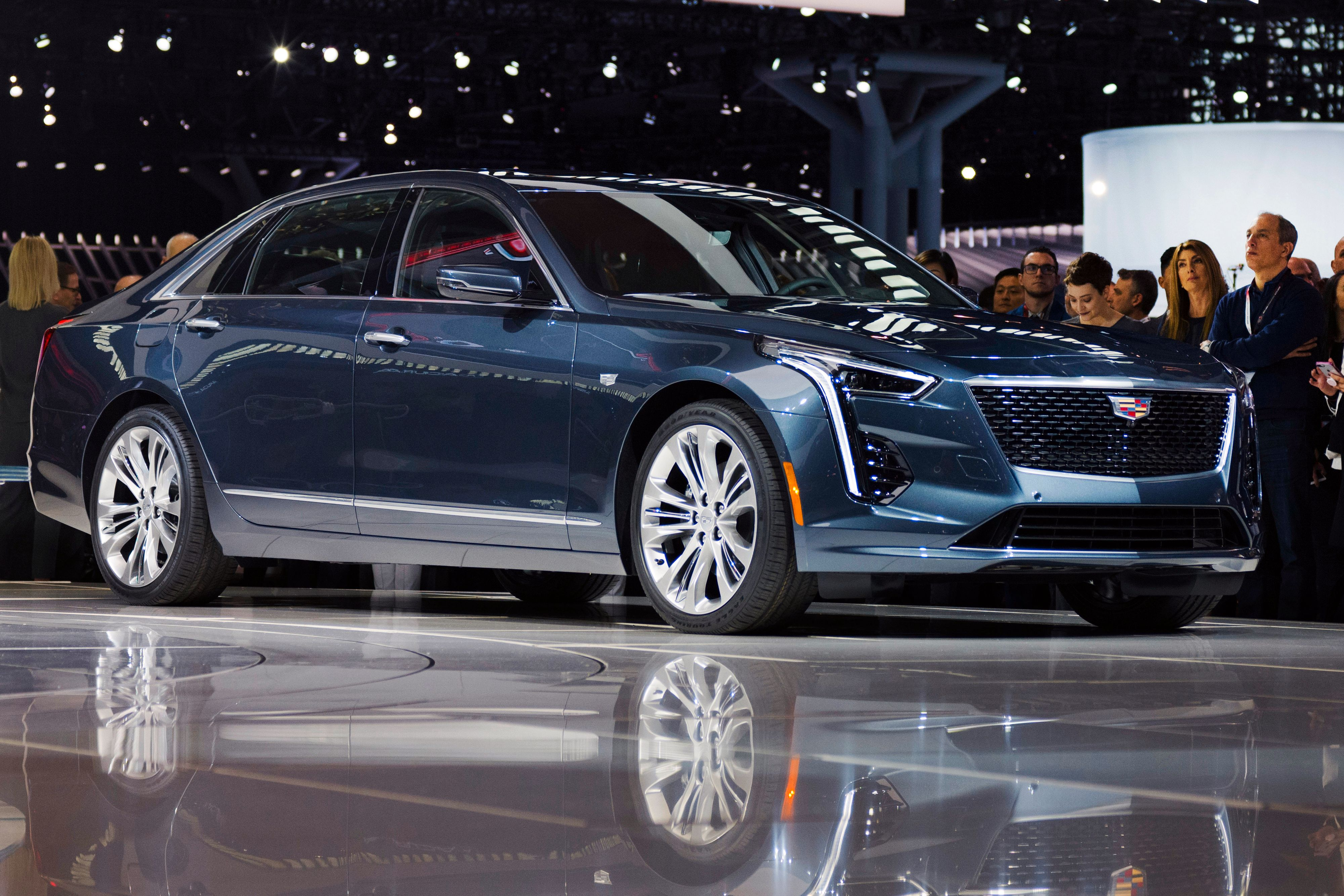 Cadillac CT6 med Super Cruise.
