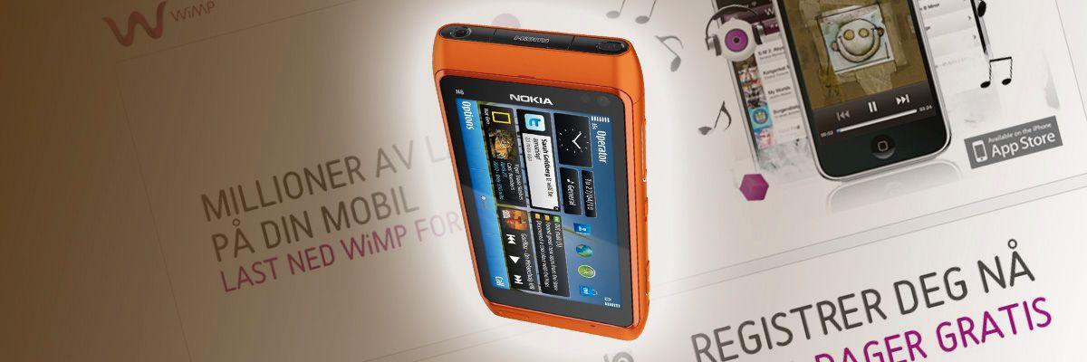 Snart får du Wimp på Nokiaen din