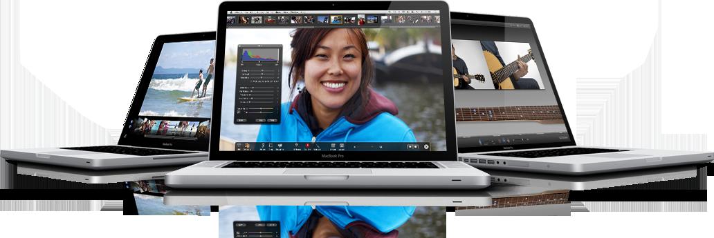 Macbook Pro oppdateres
