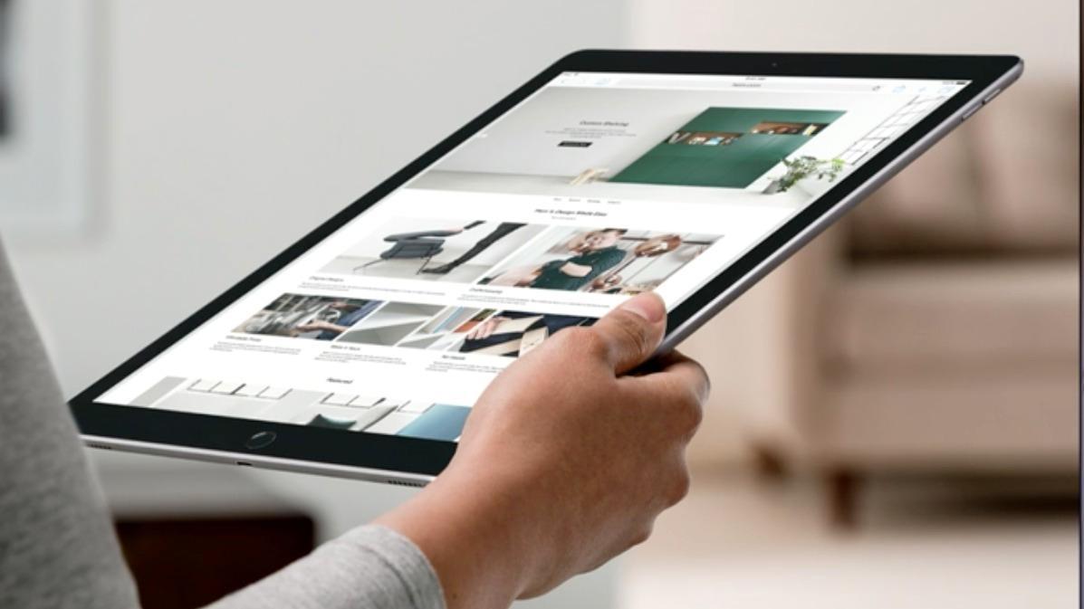 iPad Pro er den største iOS-enheten fra Apple så langt.
