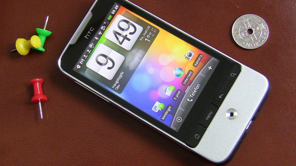 Test: HTC Legend - slik skal det gjøres!