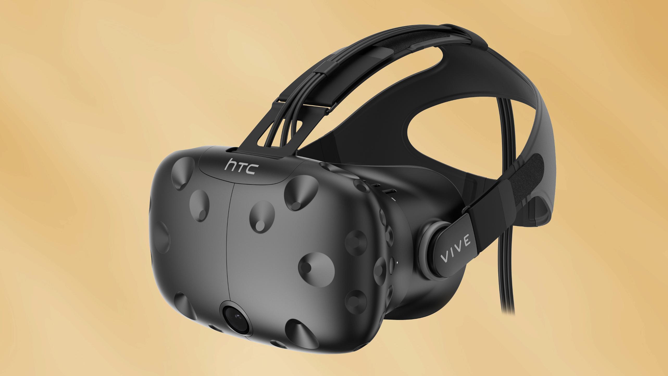 Sonys VR-briller er cirka 5000 kroner billigere enn HTC Vive, her avbildet, men har følgelig også lavere ytelse.
