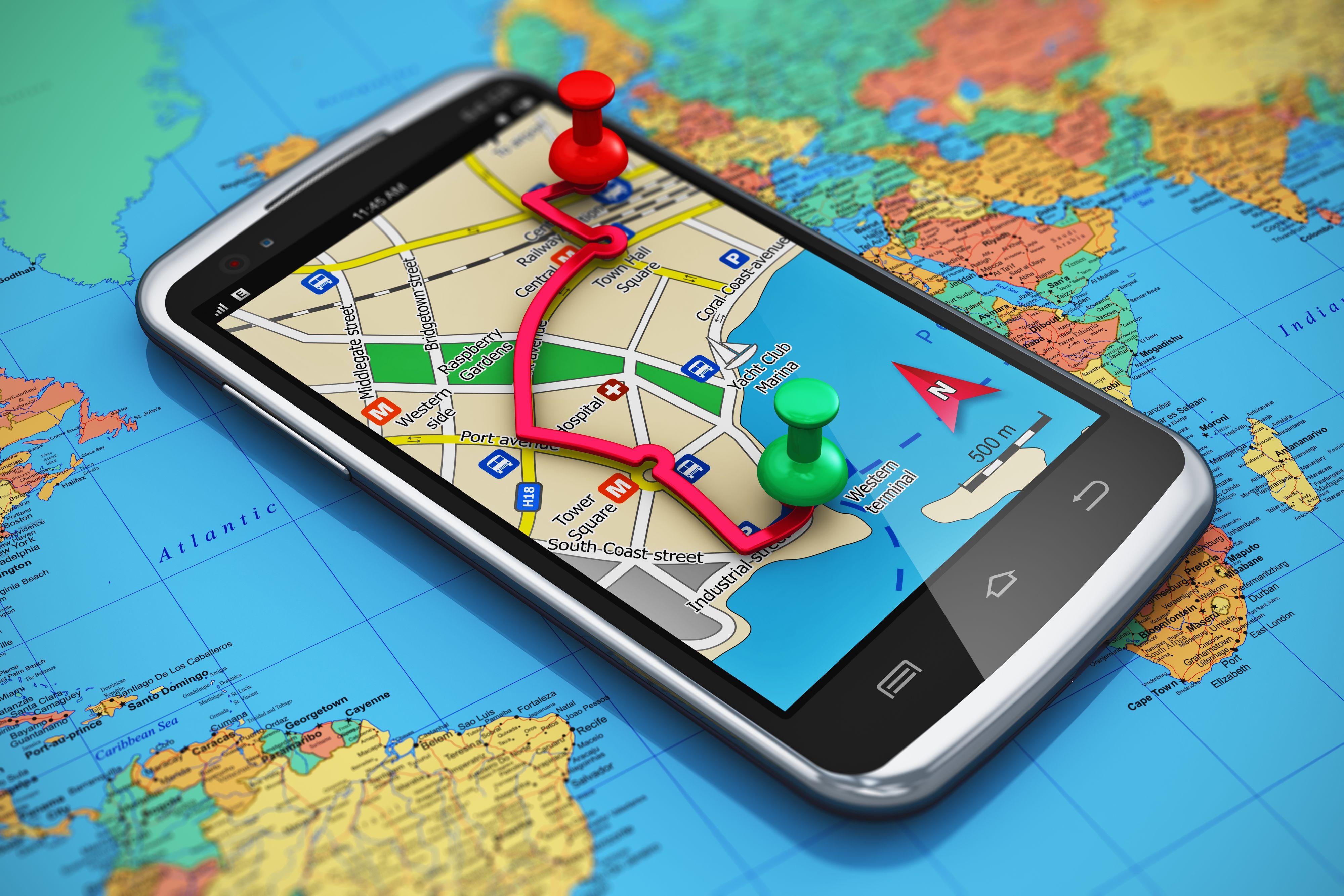 Siden 1993 har det vært mulig å navigere ved hjelp av GPS. Foto: Shutterstock