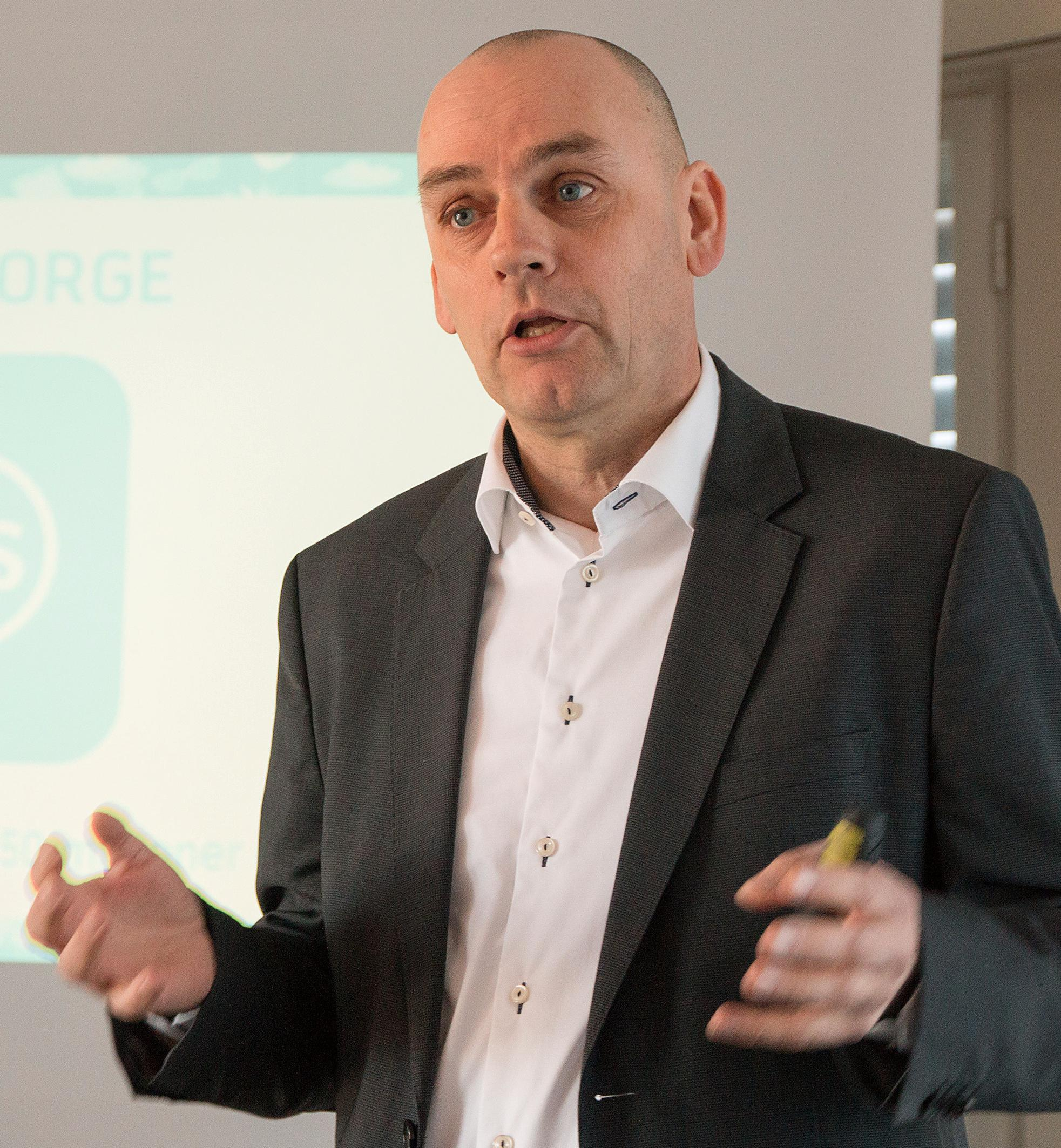 Bjørn Ivar Moen, leder for Telenors mobilvirksomhet.