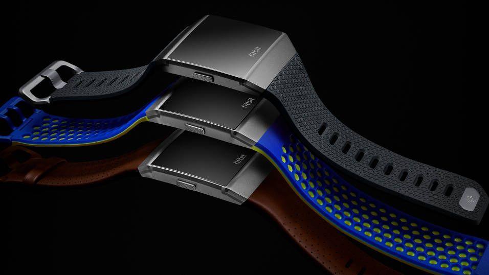 Den nye smartklokken Ionic.. Bilde: Fitbit