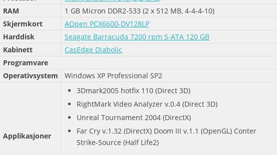 AOpen PCX6600-DV128LP