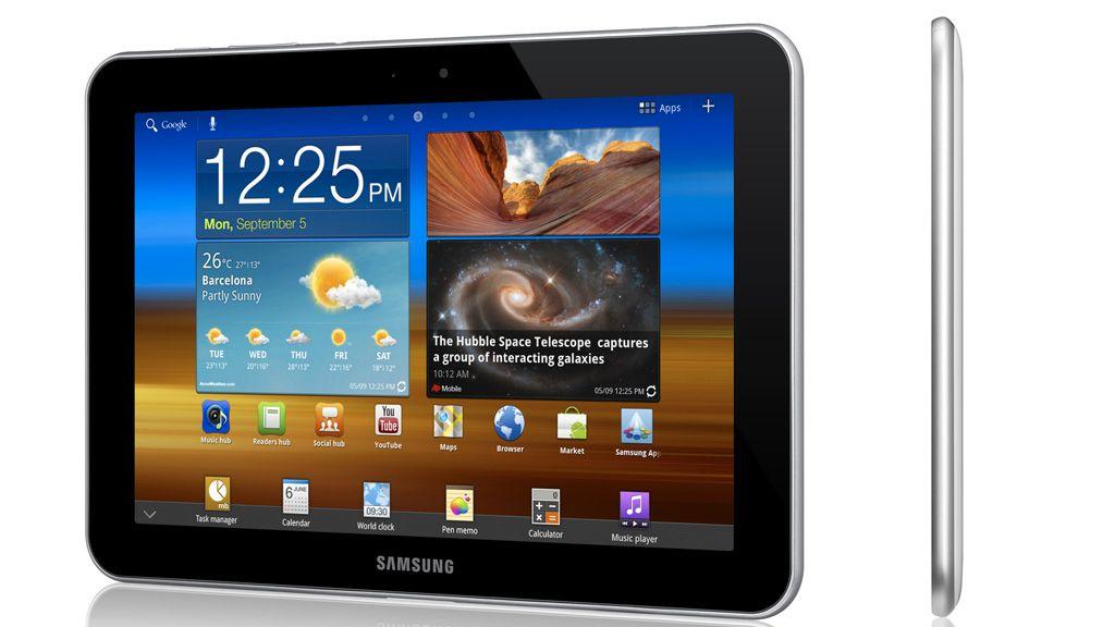 Galaxy Tab med 4G-støtte er ute i norske butikker