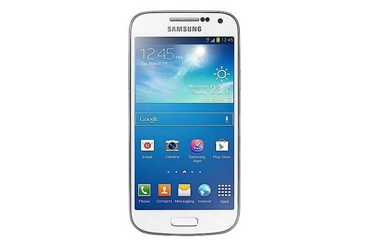 Det er flere Mini-modeller på markedet, men de fleste av dem er kun bleke skygger av toppmodellene de skal likne på. En slik er Samsungs Galaxy S4 Mini.Foto: Samsung