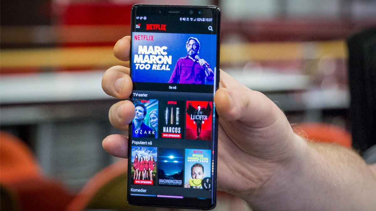 Nå er det fem mobiler som støtter Netflix' aller beste bildekvalitet