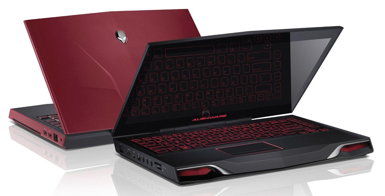 Datamaskiner fra Alienware, her representert ved 14-tommeren M14x, har sin helt spesielle stil.