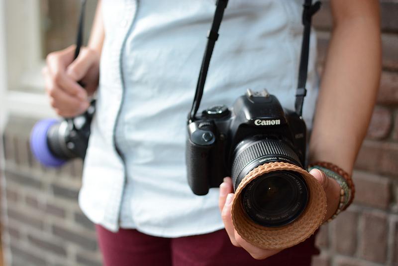 Har du et behov for å gjøre kameraet ditt mer unikt kan kanskje disse solblenderne være noe for deg.Foto: Van Alles Wat Ontwerp, All Rights Reserved