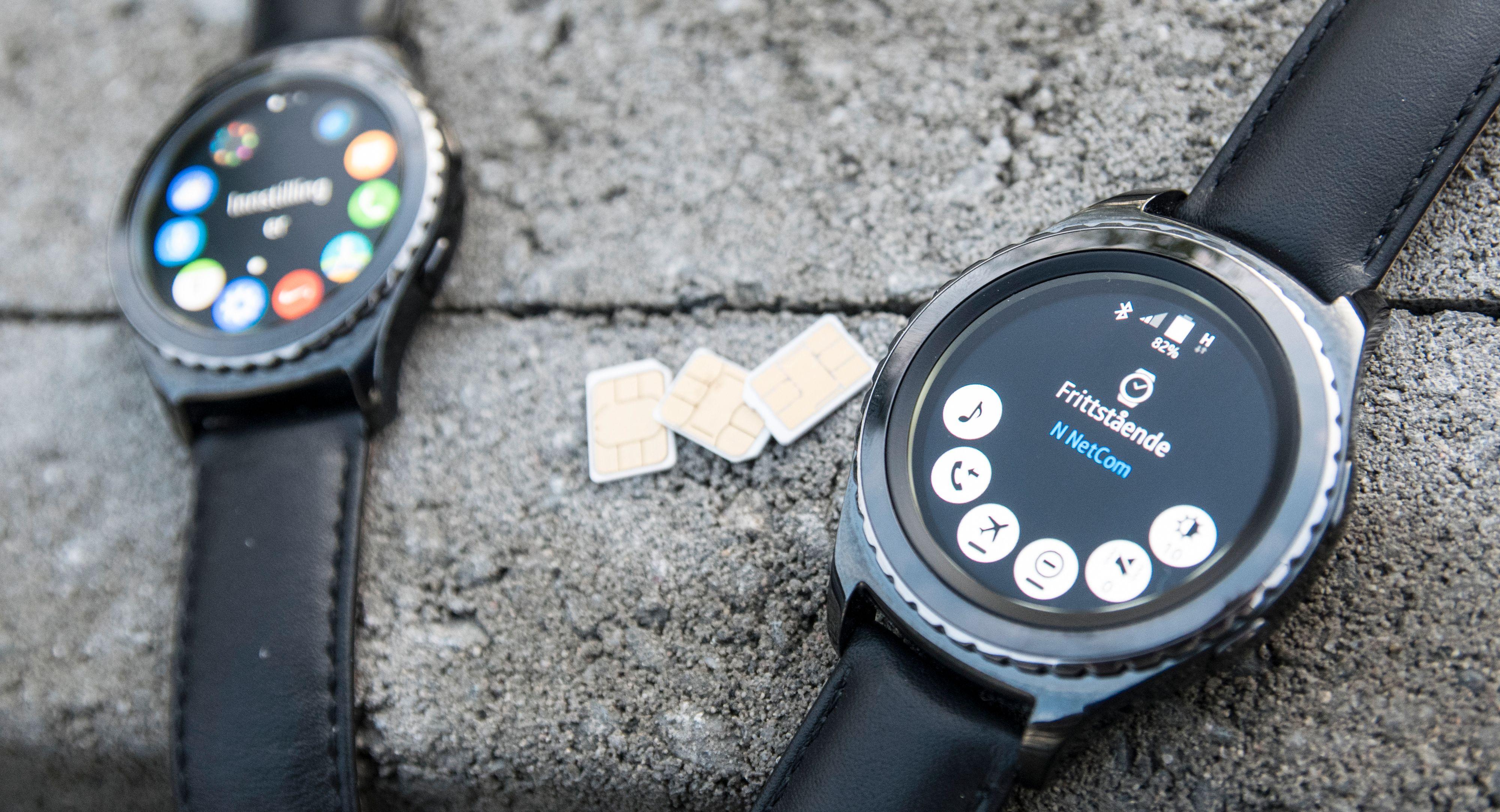 Med Samsung Gear S2 3G trenger du ikke tenke på SIM-kort. Bilde: Finn Jarle Kvalheim, Tek.no