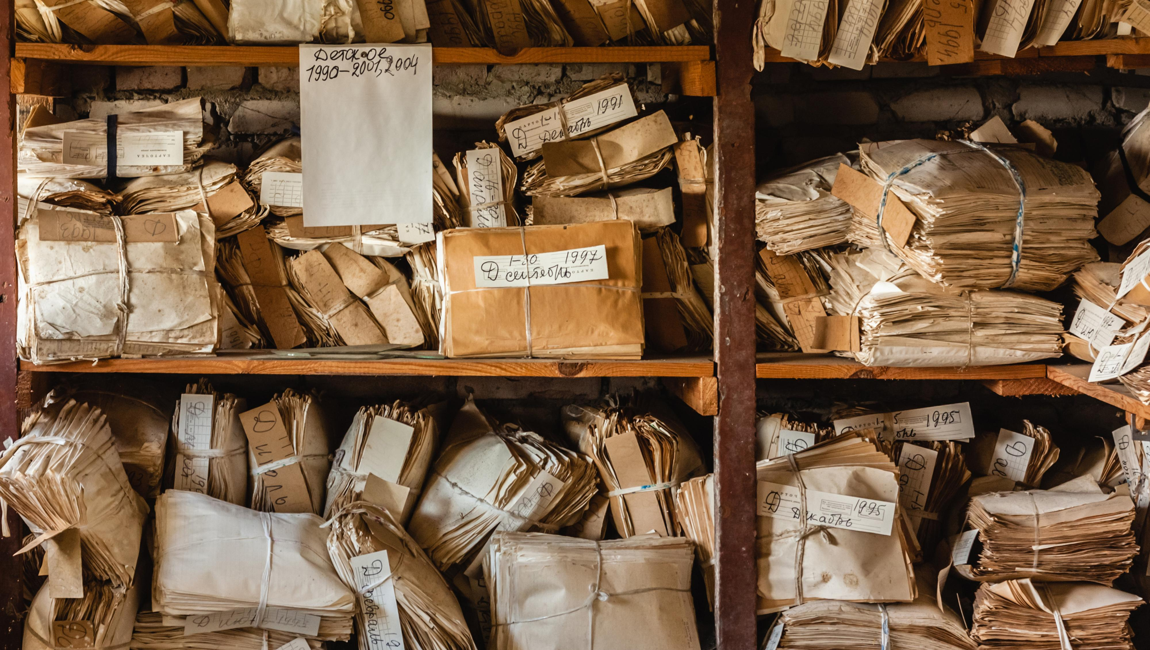 I stedet for å fjerne eller gjøre filene dine uleselige, arkiverer slettetasten de gamle dataene til lagringsenheten eller PC-en får bruk for plassen.Foto: Shutterstock