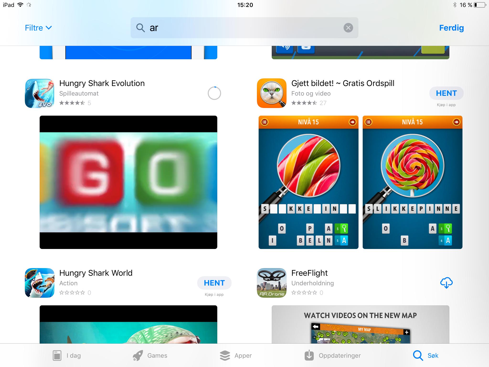 Introduksjonsvideoer for hver app vises automatisk hvis du dveler med appen på skjermen i nye App Store. Det er foreløpig litt uvisst om det er mulig å skru av denne funksjonen, eller eventuelt å begrense den på mobilnett.