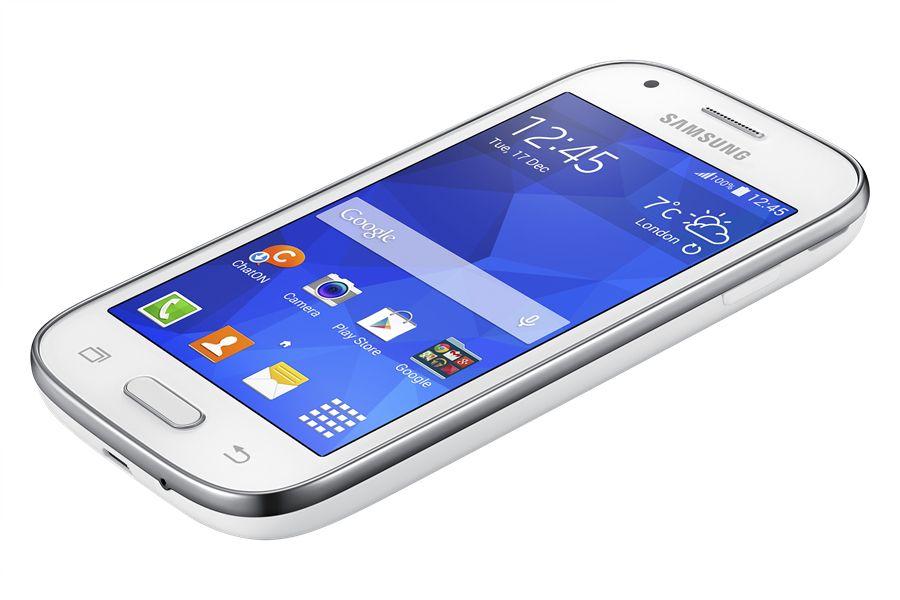 Samsung Galaxy Ace Style fås i både svart og hvitt.Foto: Samsung