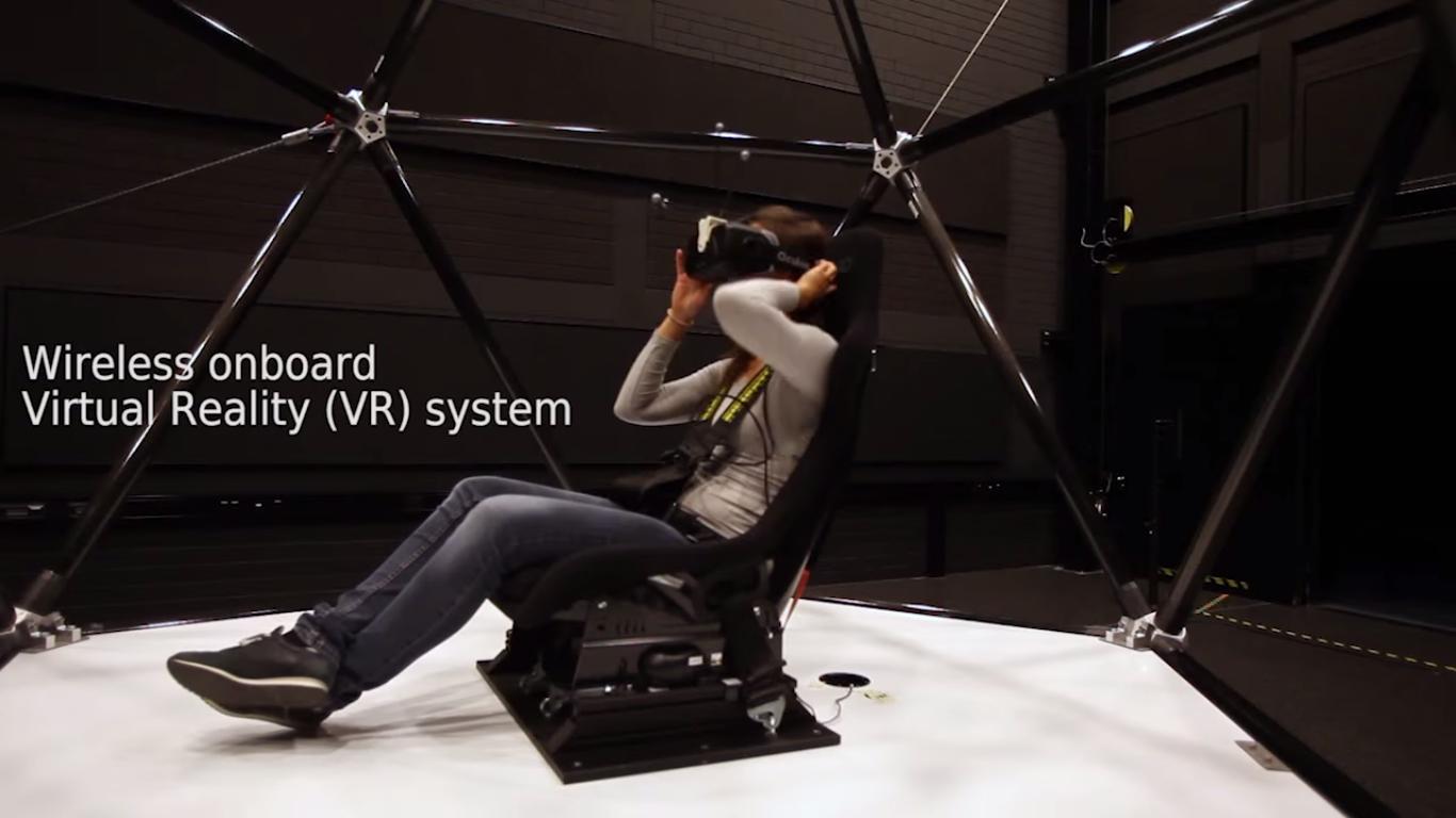 Systemet er kompatibelt med Oculus Rift-brillene. Foto: Max Planck Institute for Biological Cybernetics/YouTube