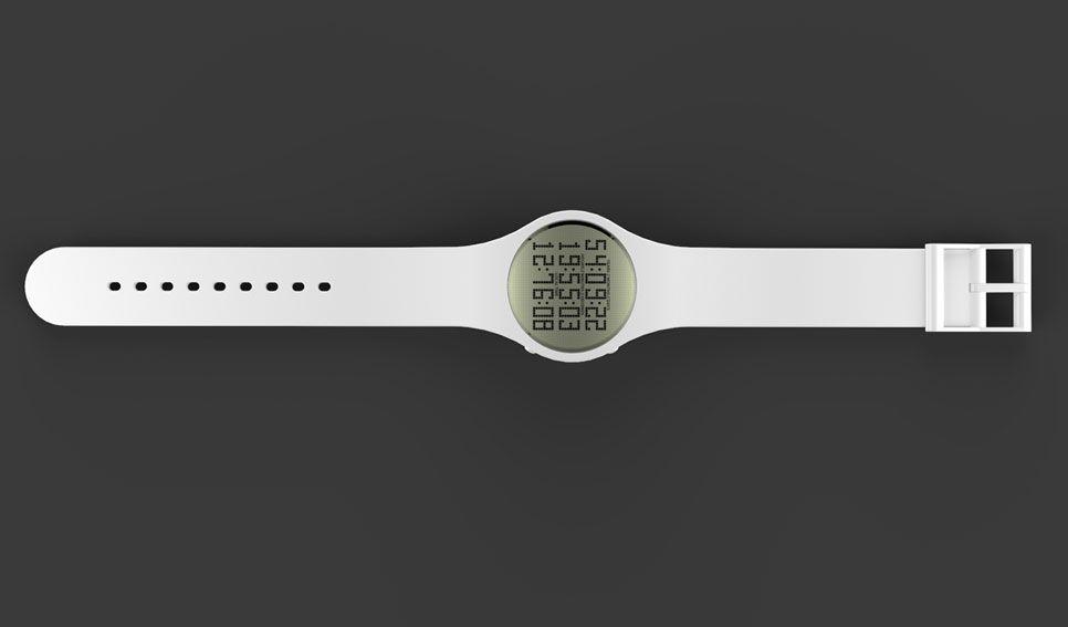 Tikker-klokken teller ned hvor lang tid du har igjen å leve. Foto: Tikker