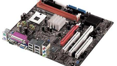 Pentium-M-hovedkort fra DFI
