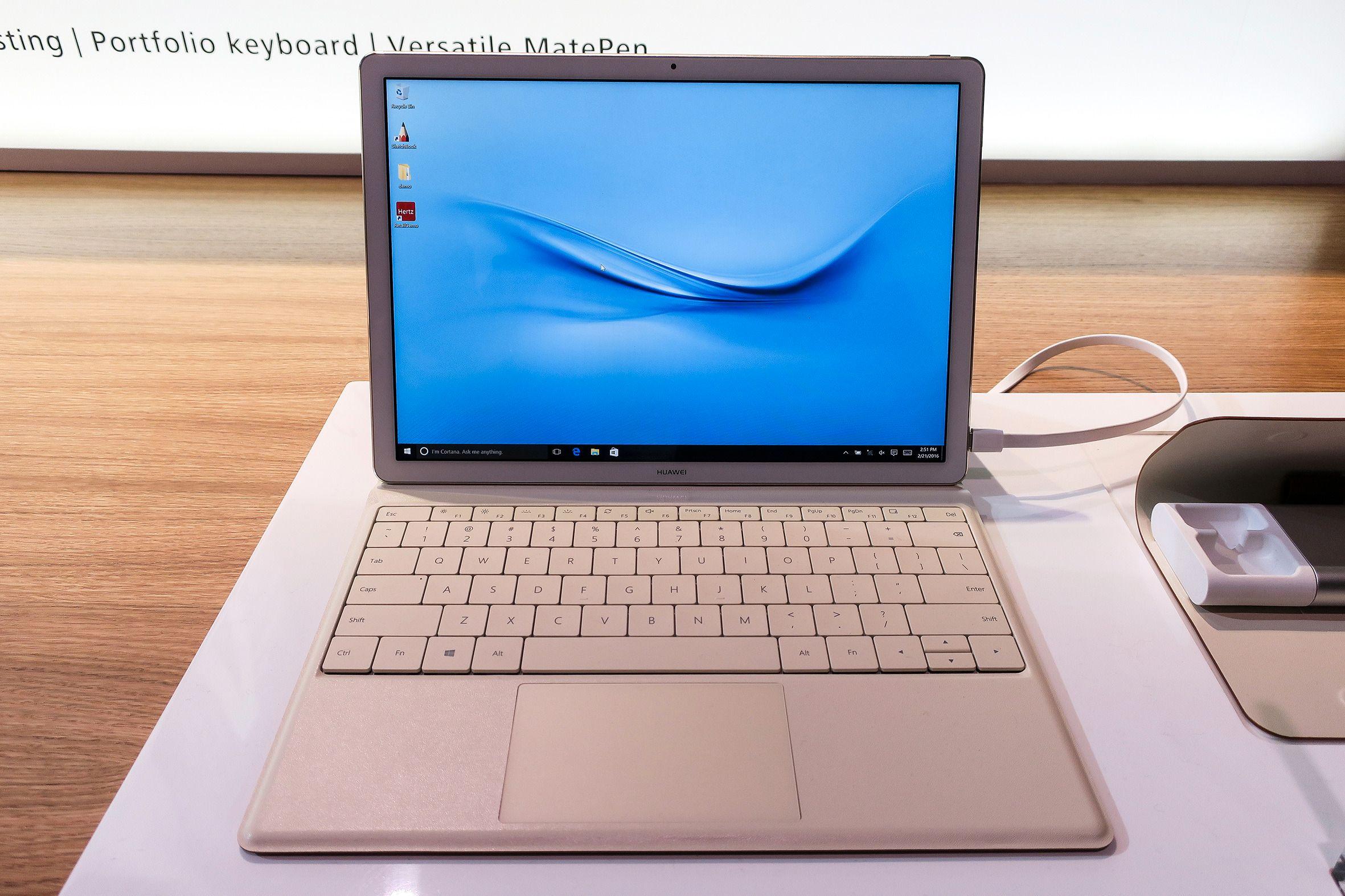 MateBook: Huawei vil inn i PC-markedet og går veien om et Intelbasert nettbrett. ORV