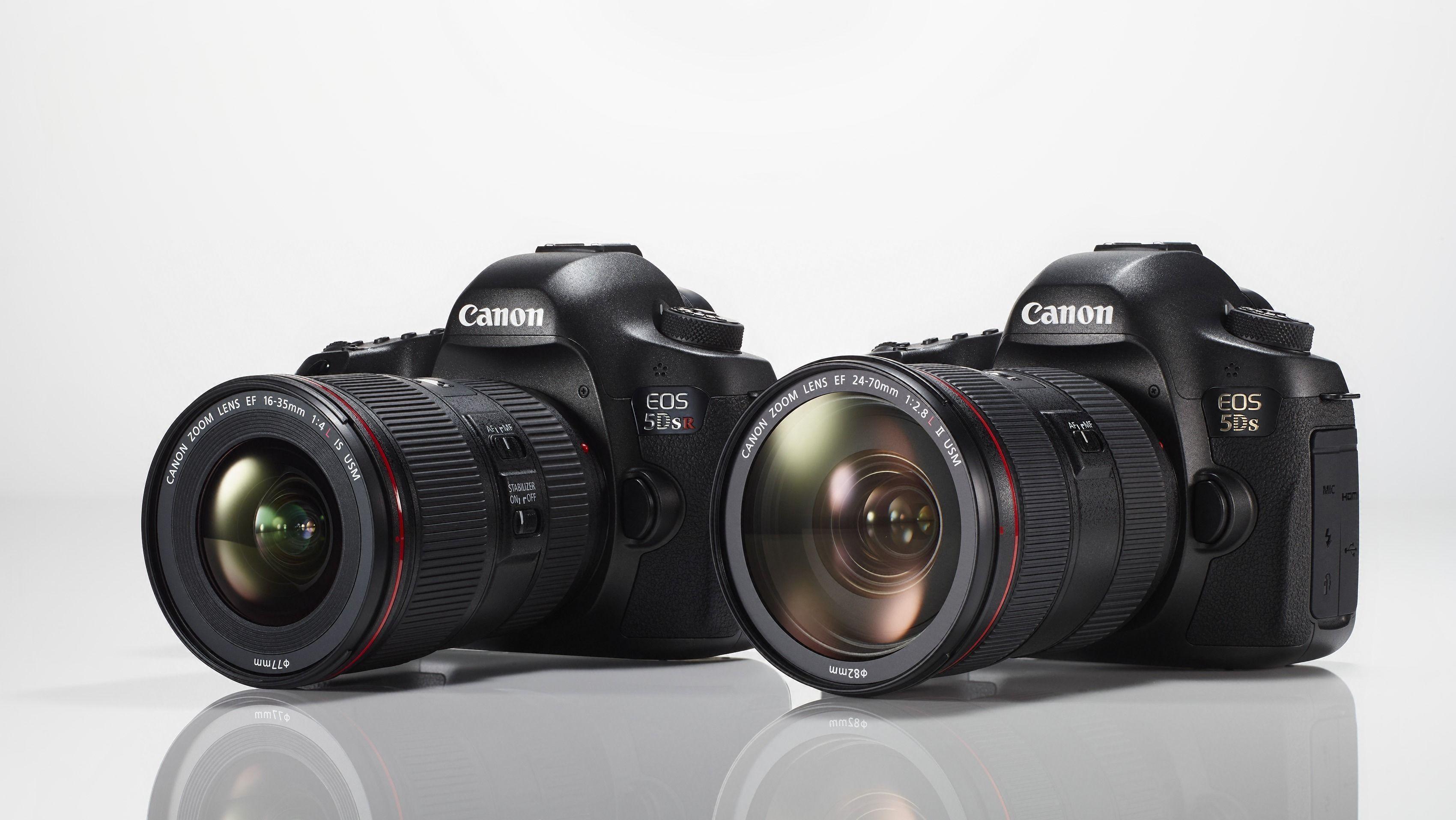EOS 5Ds og 5Ds R. Foto: Canon