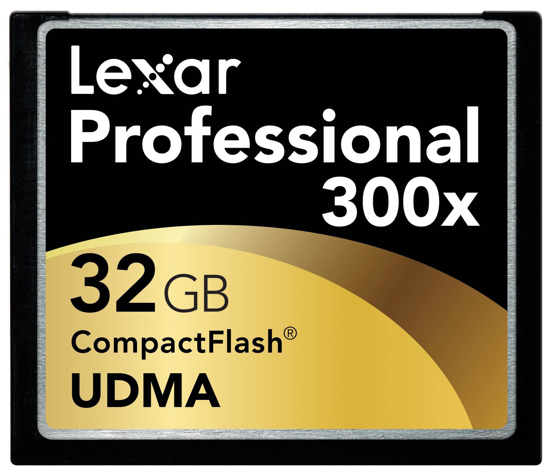 RASKERE: Lexar 32GB 300x gir en hastighet på 45MB/s.
