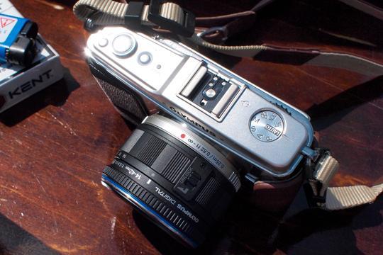 E-P1 fotografert med E-P1