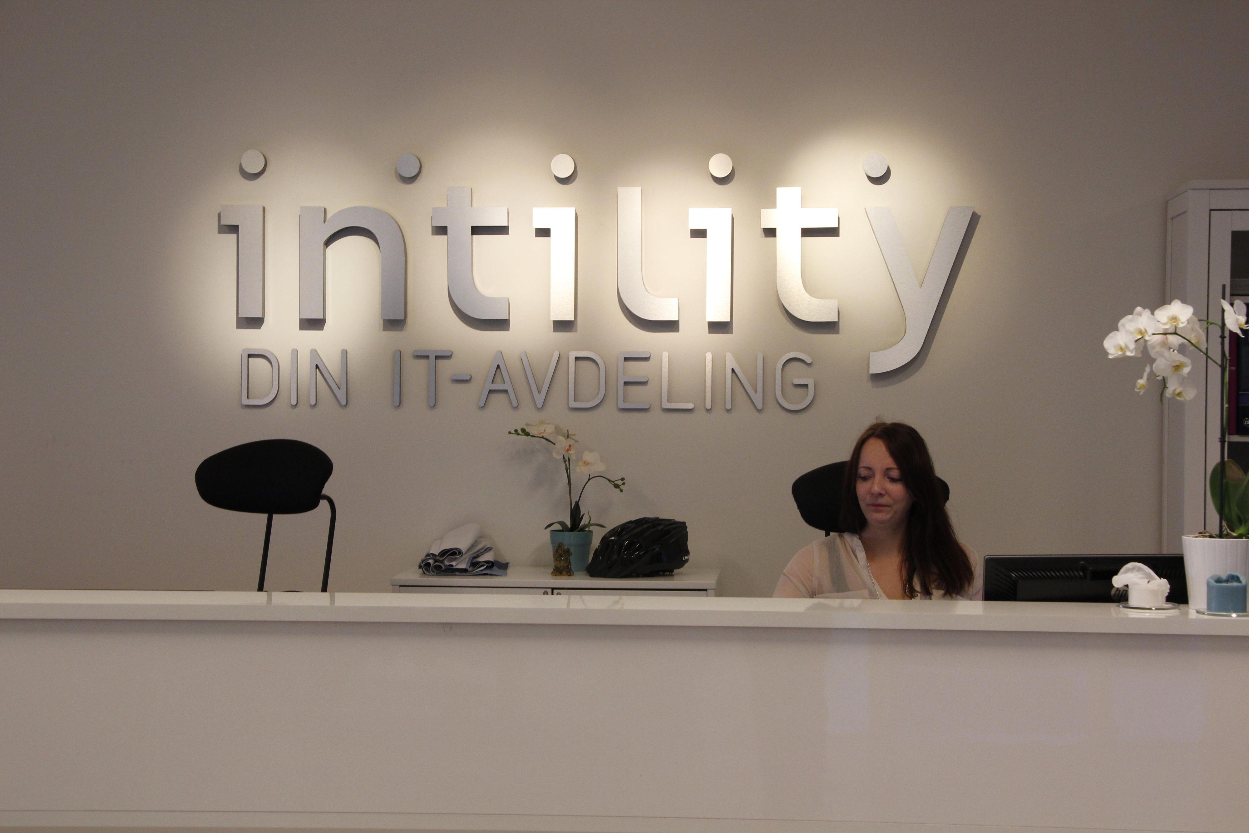 Intility profilerer seg som Din IT-avdeling.Foto: Atle Skretting