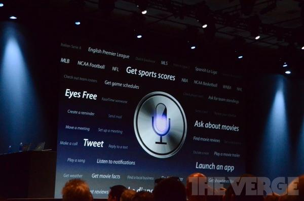 Siri blir kraftig oppgradert i iOS 6.