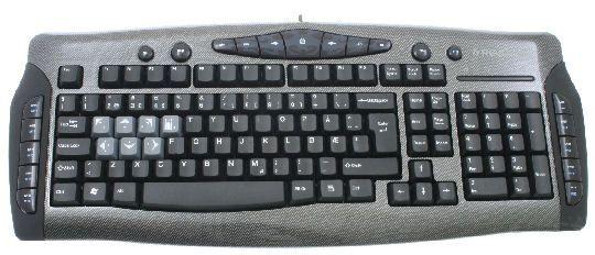 Saitek Eclipse Keyboard Test Tek.no