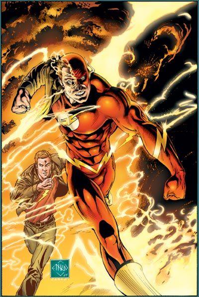 Det gjør The Flash også, til tross for at begge tegneseriekarakterene er med i en film om Justice League.