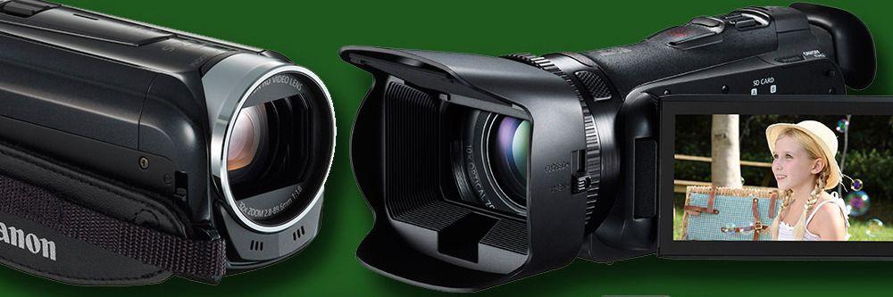 Lanserer nye videokameraer