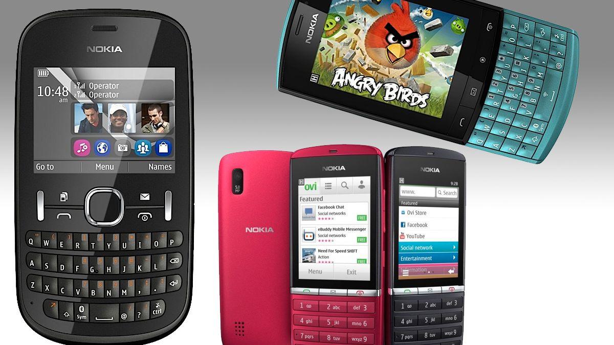 Nokia lanserer Asha-serien