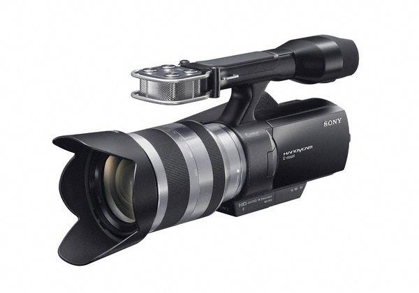 Sonys nye videokamera med utskiftbar optikk