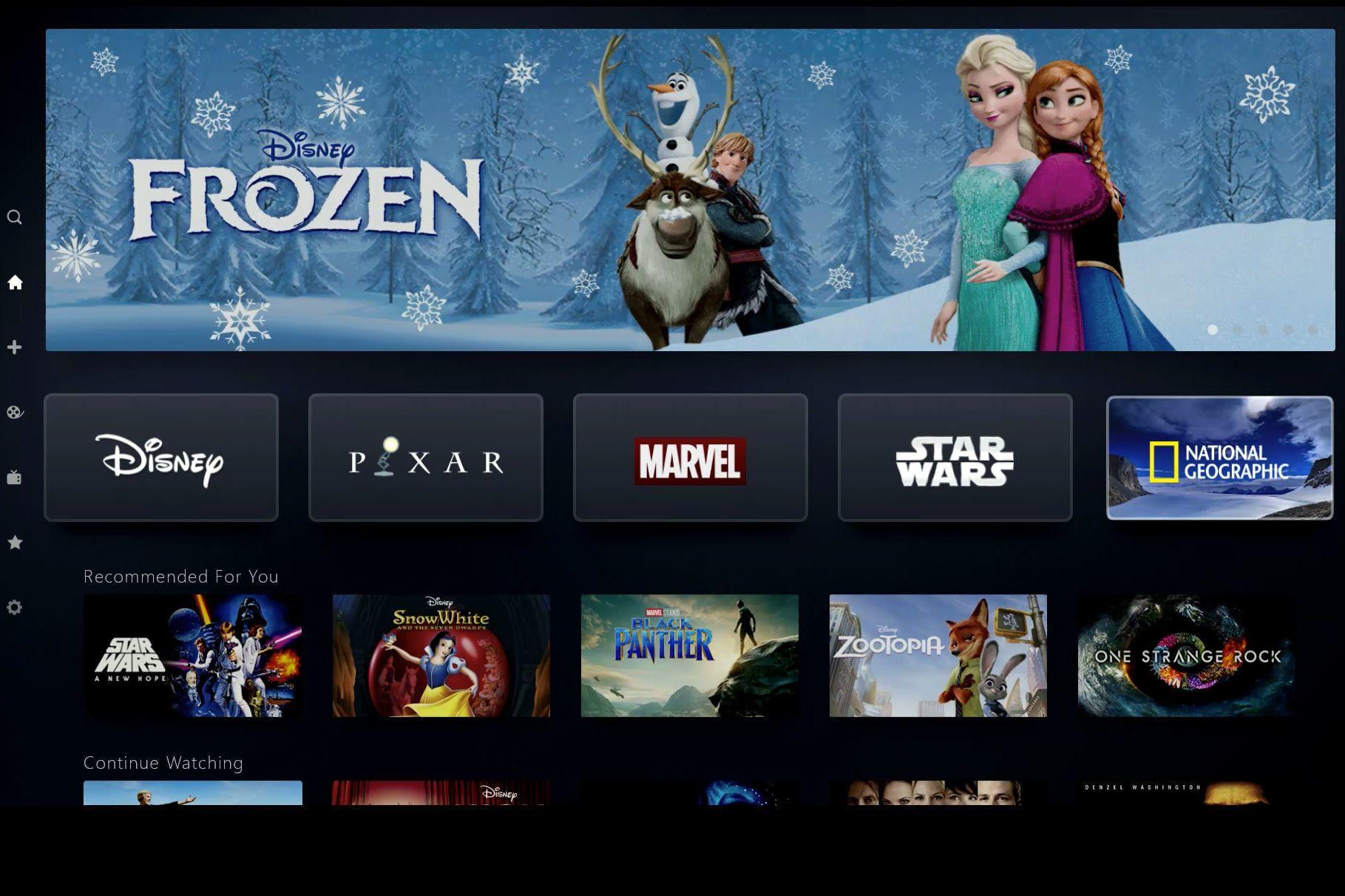 Noen av de største film- og seriehitsene hvert år kommer fra Disney, eller ett av selskapene Disney eier.